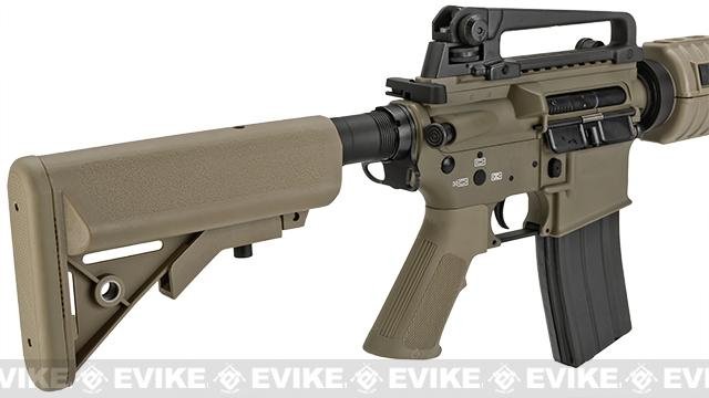 Evike Custom Class I G&P M4 Airsoft AEG Rifle - Special Forces (Package: Add Battery + Charger)