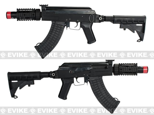z Evike Custom AK4 Stubby Killer Airsoft AEG Rifle
