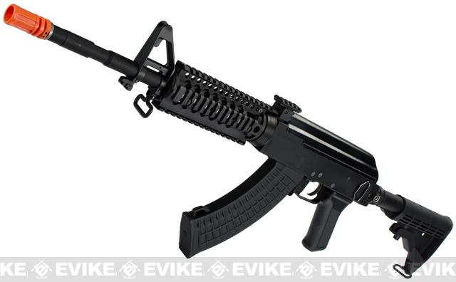z Evike Custom AK4 Daniel Defense Omega 7 Full Metal Airsoft AEG Rifle