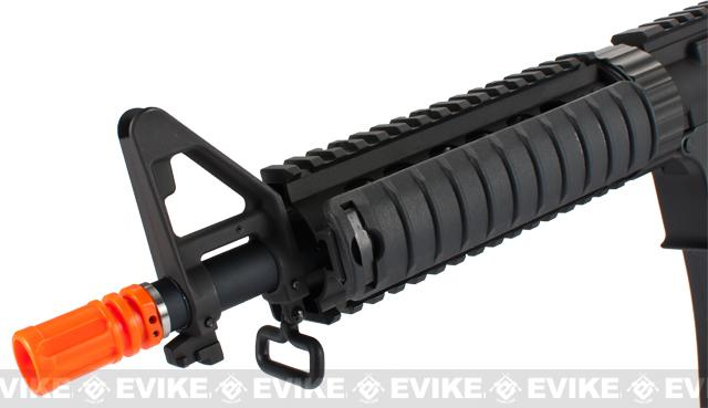 Evike Custom Class II G&P / PolarStar M4 CQB-R Electro-Pneumatic Airsoft Rifle - Black