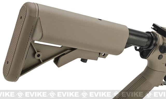 Evike Class I Custom G&G M4 Patriot w/ Crane Stock Airsoft AEG Rifle - Tan (Package: Gun Only)