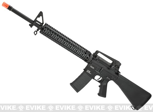 KWA Full Metal KM16 SR12 Custom Airsoft AEG (2GX 9mm Version) - Black