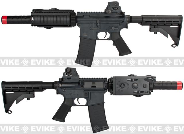 Bone Yard - Custom KWA M4 CQB-R Airsoft AEG Rifle (Store Display, Non-Working Or Refurbished Models)