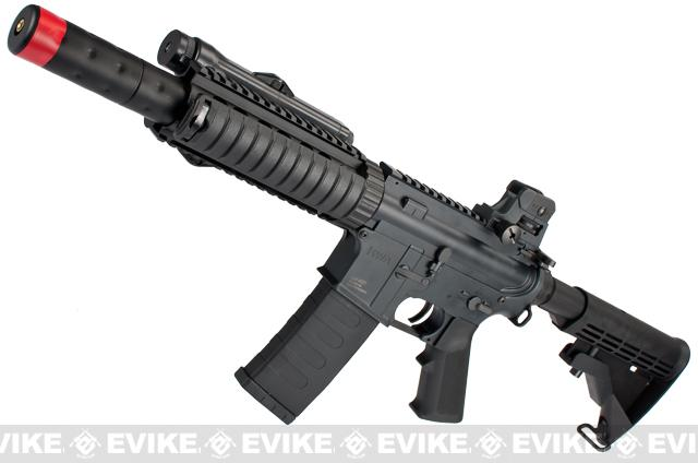 z Evike Custom KWA M4 CQB-R Airsoft AEG Rifle