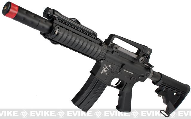 Evike Custom WE-Tech Full Metal M4 CQB-R Airsoft AEG Rifle