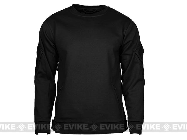 CAST Gear Tactical Pullover Crew Neck Sweatshirt - Black (Size: Medium)