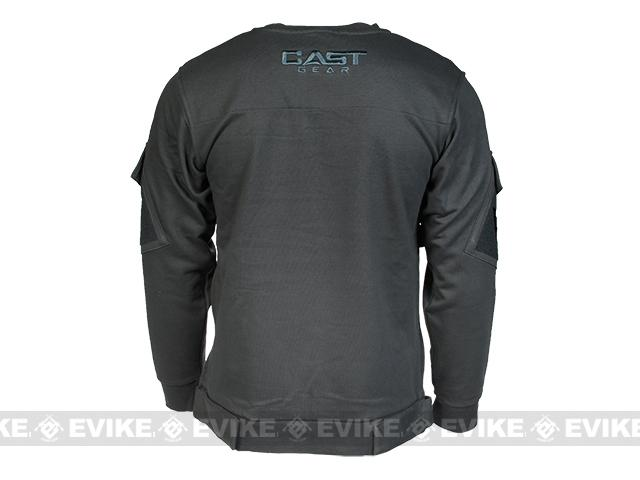 CAST Gear Tactical Pullover Crew Neck Sweatshirt - Grey (Size: Medium)