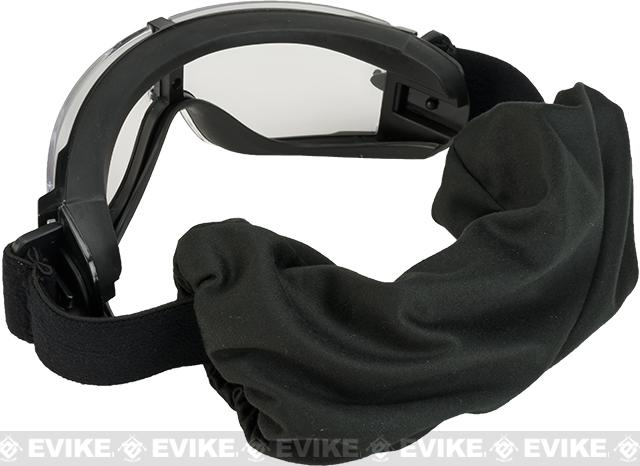 Classic Army Full Seal Type 2 Goggles Set with 3 Lenses - Black