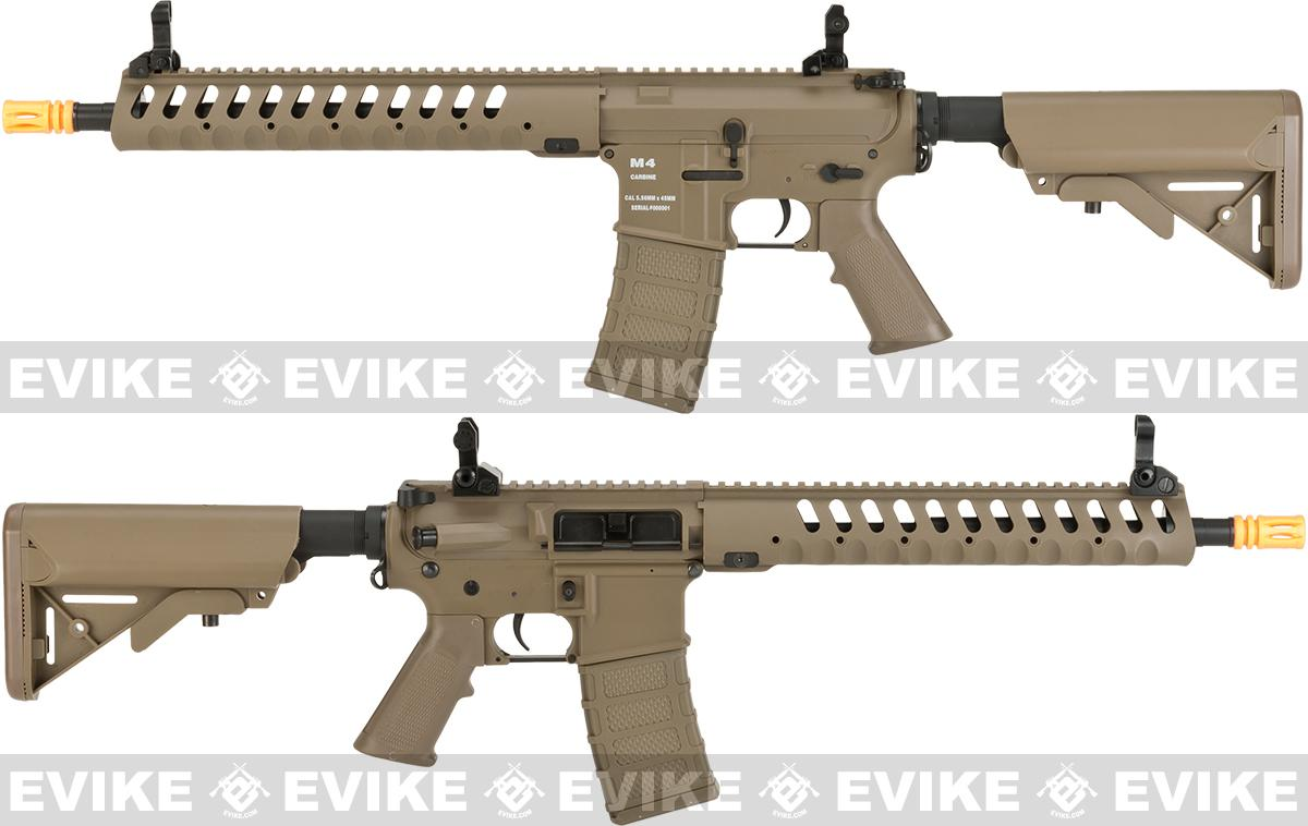 Classic Army Delta 12 Airsoft M4 AEG with Polymer Receiver - Dark Earth