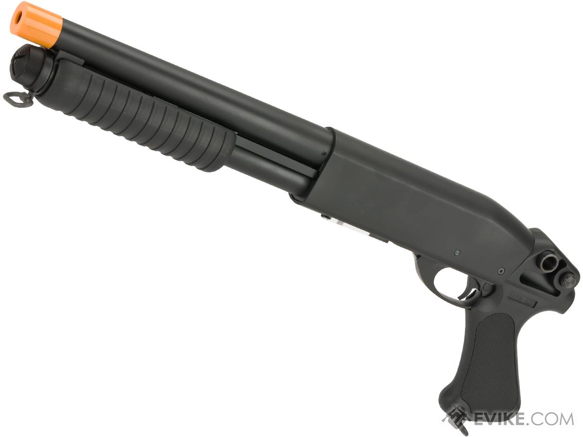 Classic Army S011P CA870 Spring Powered Breacher Type Shotgun with Metal Body and Synthetic Furniture