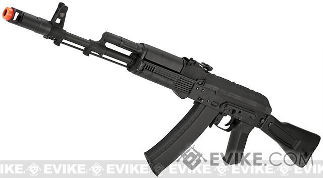 Bone Yard - CYMA Stamped Metal AK-74 w/ Folding Synthetic Stock Airsoft AEG Rifle (Store Display, Non-Working Or Refurbished Models)