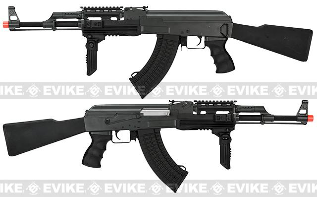 CYMA CM042A Full Metal Tactical AK47 Airsoft AEG Rifle w/ Composite Furniture - (Package: Gun Only)