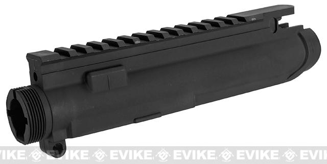 G&G Combat Machine Replacement Polymer Upper Receiver For Blowback M4 AEGs - Black