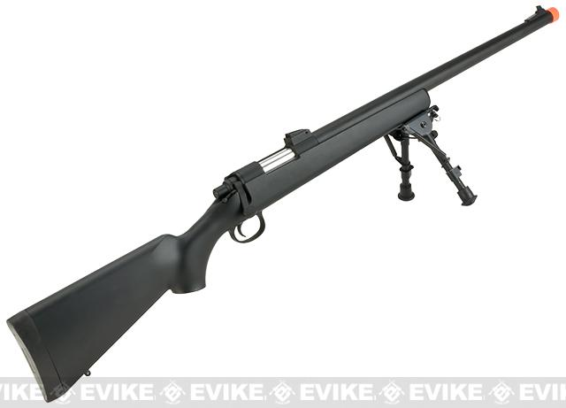 CYMA VSR-10 Bolt Action Airsoft Sniper Rifle (400~450 FPS) - Black