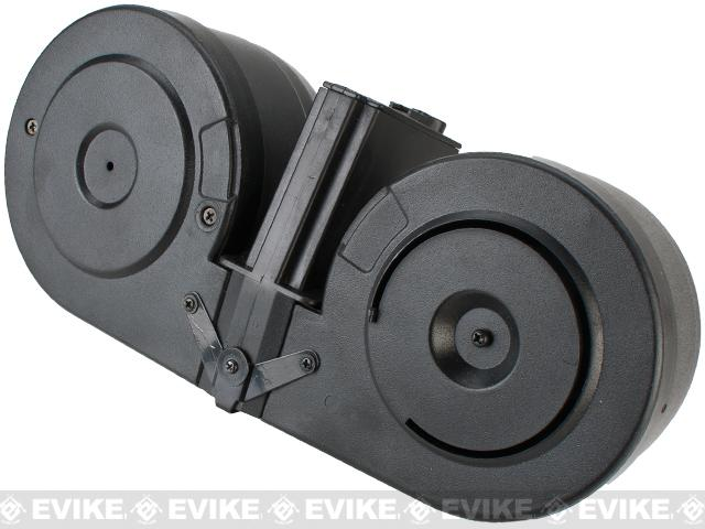 Avengers 2500rd Electric C-Mag Drum for M4 M16 Series Airsoft AEG (Electric Winding)