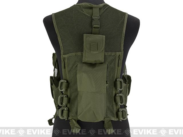 NcStar VISM Lightweight Mesh Tactical Vest - OD Green