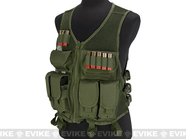 NcStar VISM Lightweight Mesh Tactical Vest - OD Green