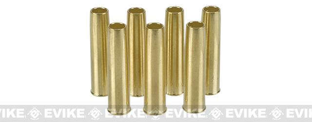 Spare Brass Shells for Nagant Series Airsoft Co2 Revolvers - Set of 7