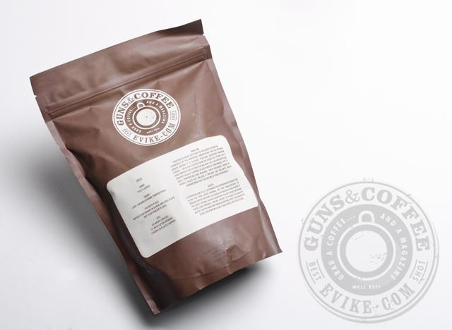 Guns & Coffee ™ Fully Loaded 100% Arabica Premium Coffee - Black Ops Dark Roast / 1lb Sealed Bag
