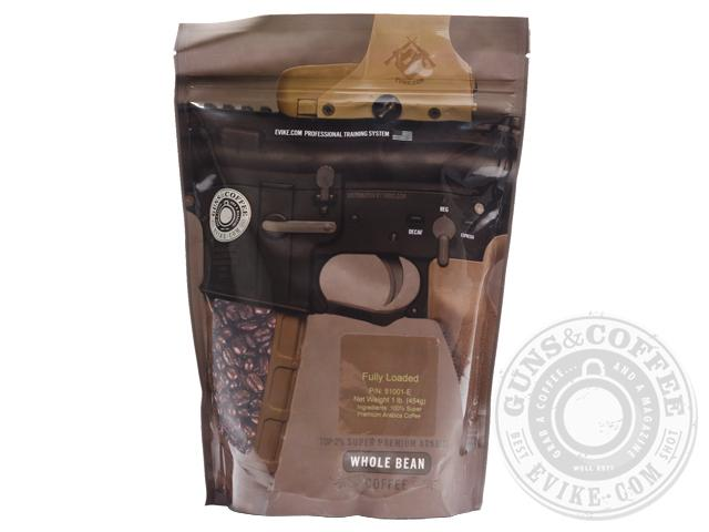 Guns & Coffee � 100% Arabica Premium Coffee - 1lb Sealed Bag