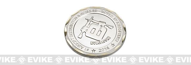 Evike.com 2014 Limited Edition Brass 50mm Collectible Challenge Coin