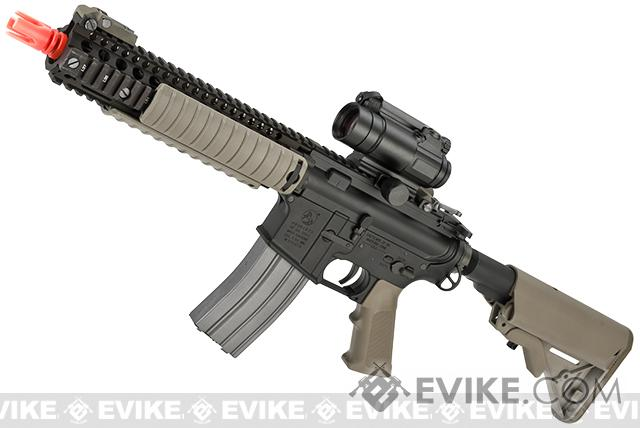 VFC Colt Licensed MK18 MOD1 Full Metal VR16 Airsoft AEG Rifle (Color: Dark Earth)