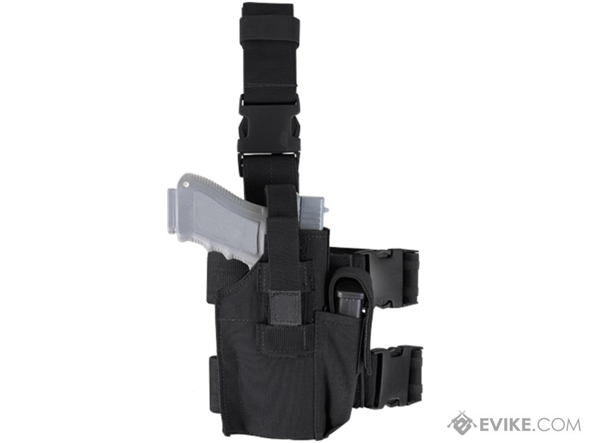 Condor Tactical Leg Holster (Color: Black)