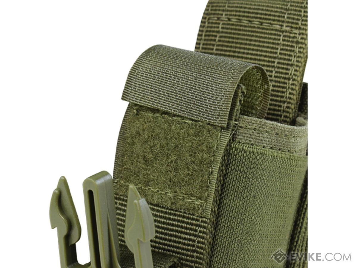 Condor Tactical Double Flashbang / Large Grenade Pouch (Color: Black)