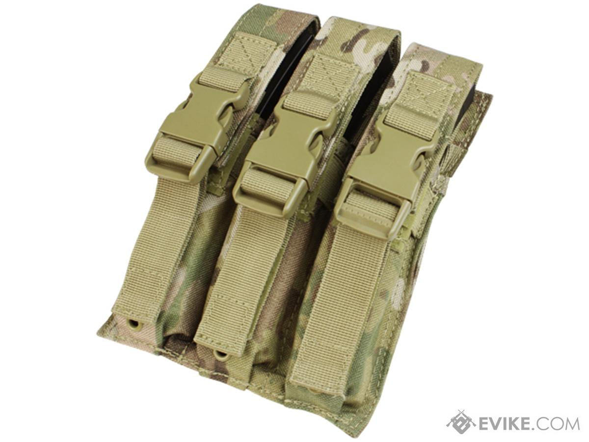 Condor Tactical Triple MP5 / SMG Magazine Pouch (Color: Multicam)