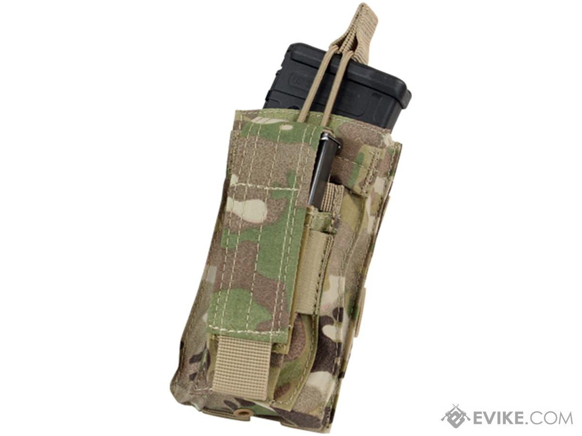 Condor MOLLE Kangaroo M16/M14 Magazine and Pistol Magazine Pouch (Color: Multicam)