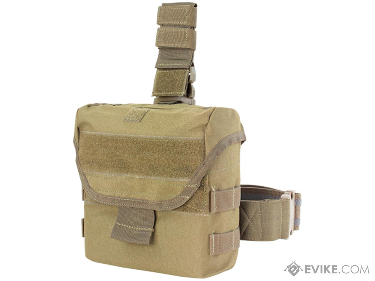 Condor Drop Leg Dump Pouch (Color: Tan)