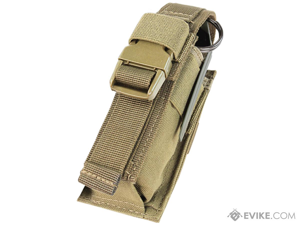 Condor Tactical Single Flashbang / Large Grenade Pouch (Color: Tan)