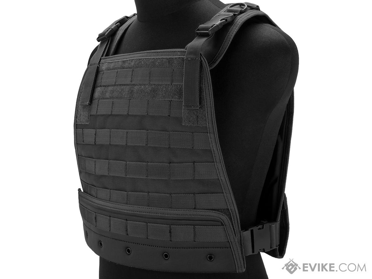 Condor Compact Plate Carrier (Color: Black)