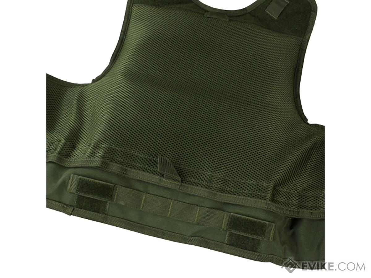 Condor Quick Release Plate Carrier (Color: Black)