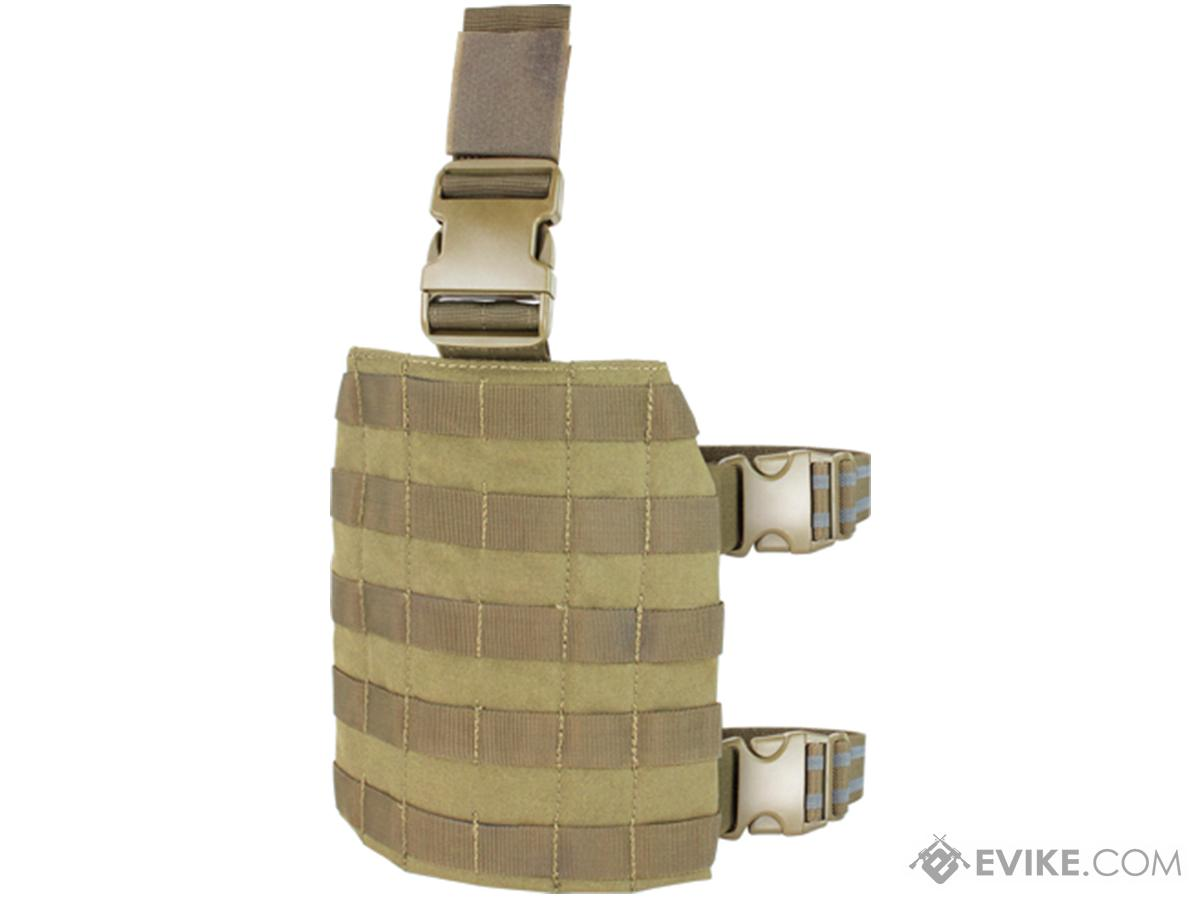 Condor MOLLE Drop Leg Panel (Color: Tan)