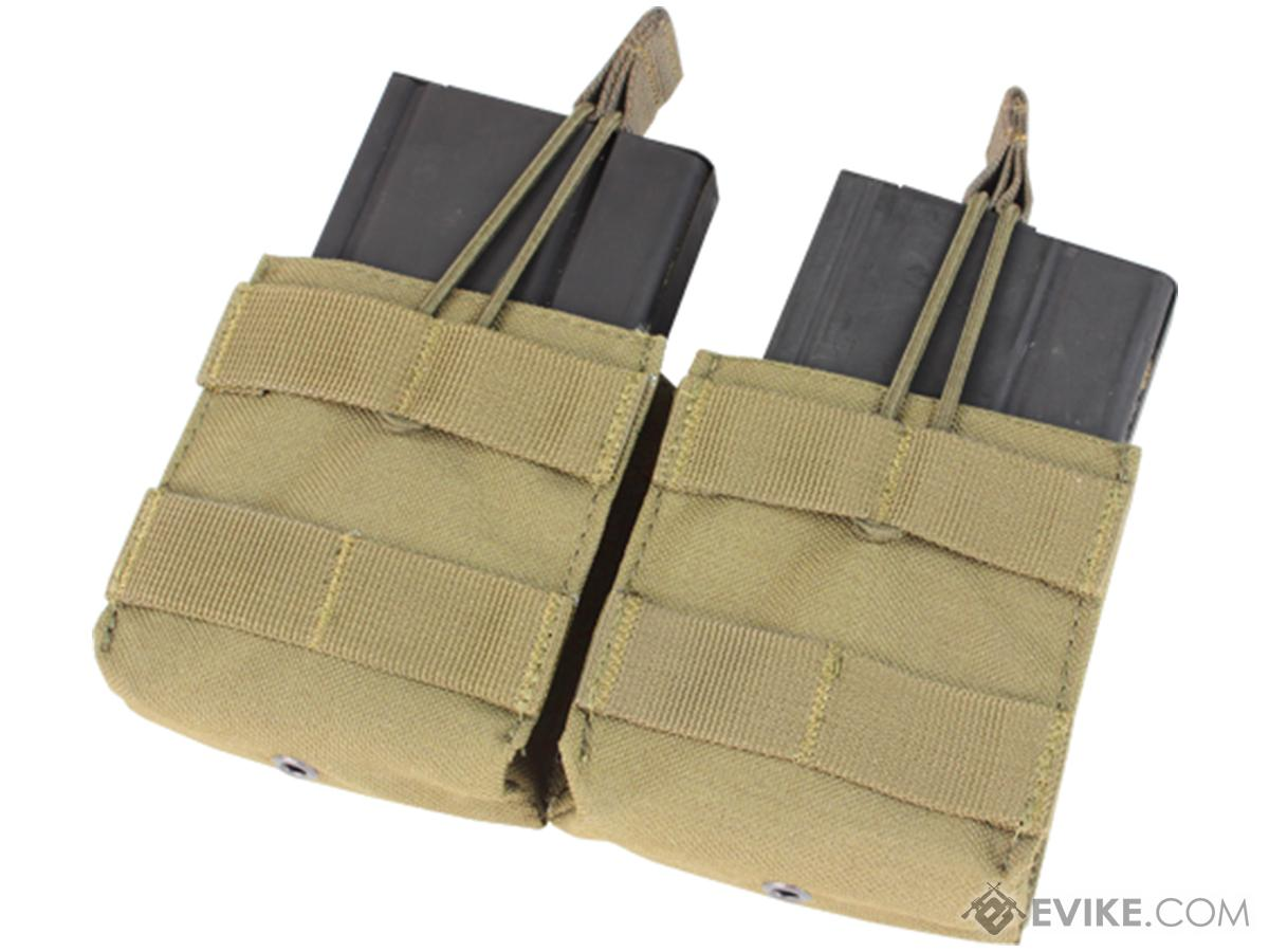 Condor Double M14 Open Top Magazine Pouch (Color: Tan)