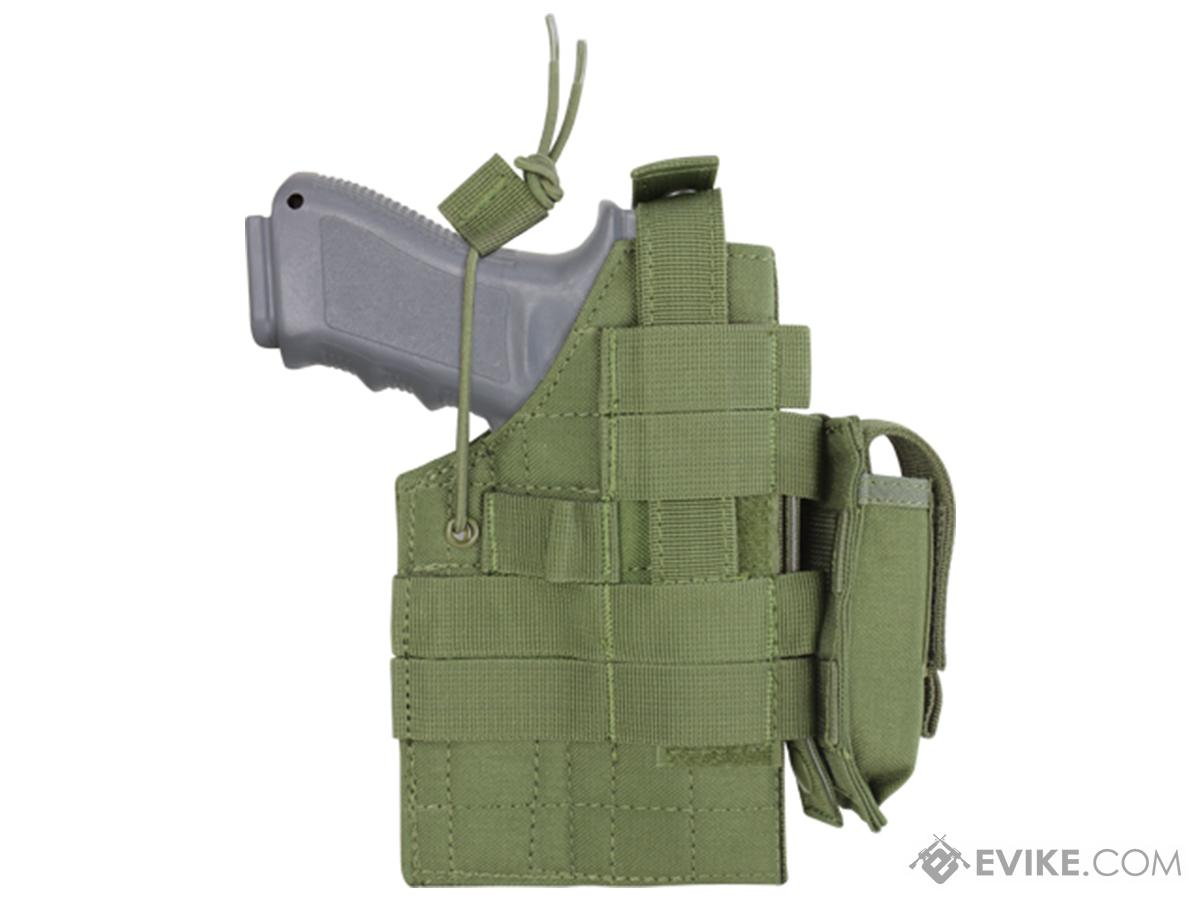 Condor Ambidextrous Holster for Glock Series Pistols (Color: OD Green)