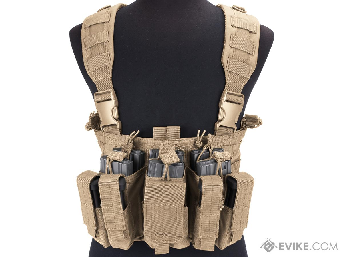 Condor Gen 5 Tactical MOLLE Recon Chest Rig (Color: Tan)