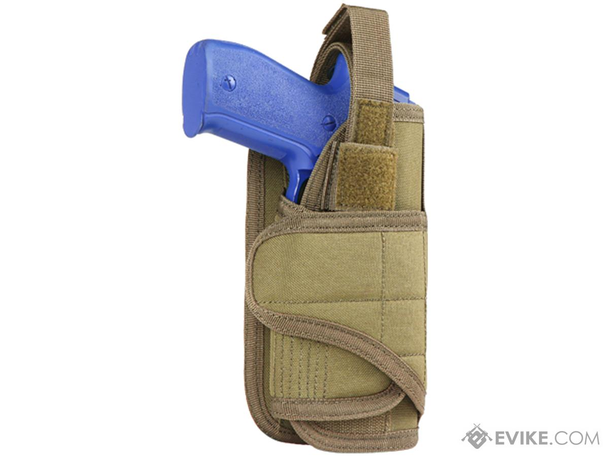 Condor Vertical MOLLE Ready Holster (Color: Tan)
