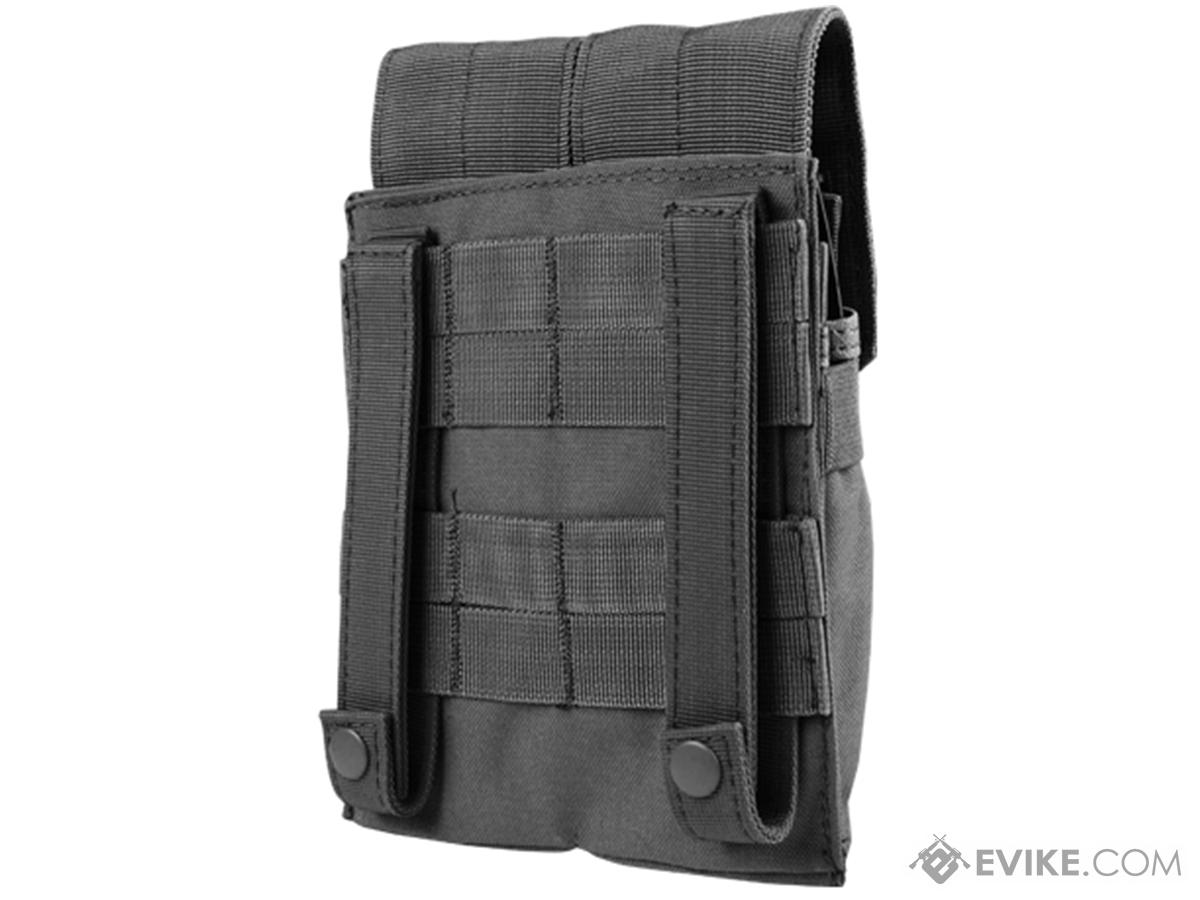 Condor Double AK Kangaroo Magazine Pouch (Color: Black)