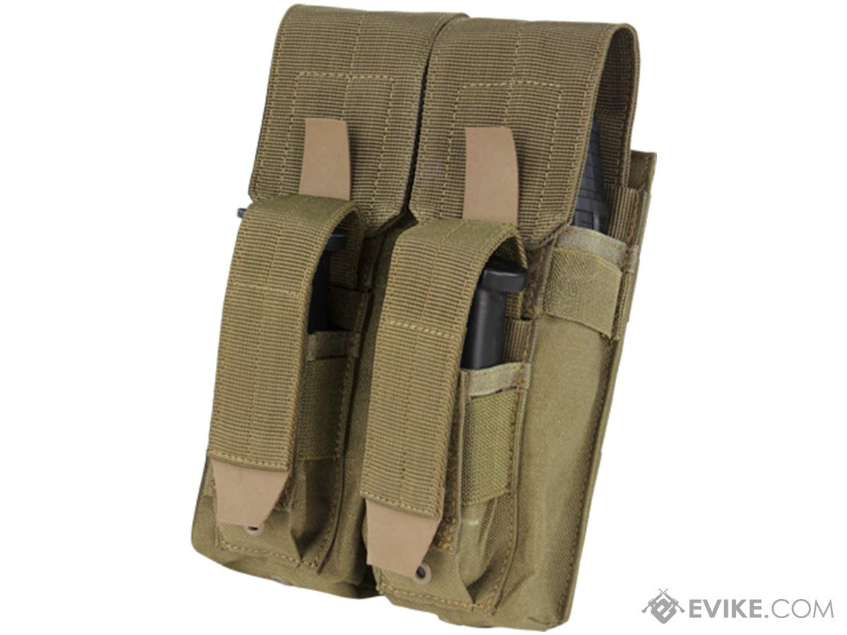 Condor Double AK Kangaroo Magazine Pouch (Color: Tan)