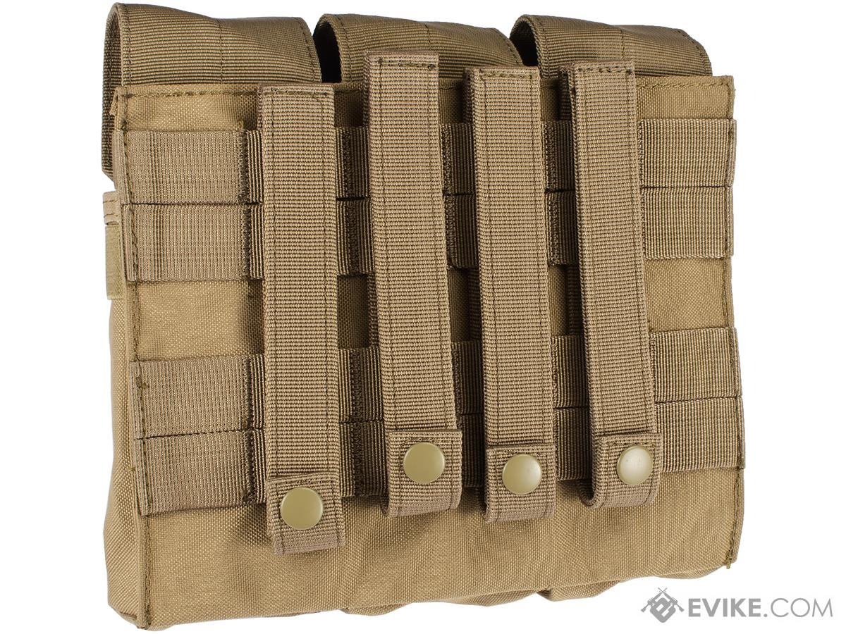 Condor Triple AK Kangaroo Magazine Pouch (Color: Tan)