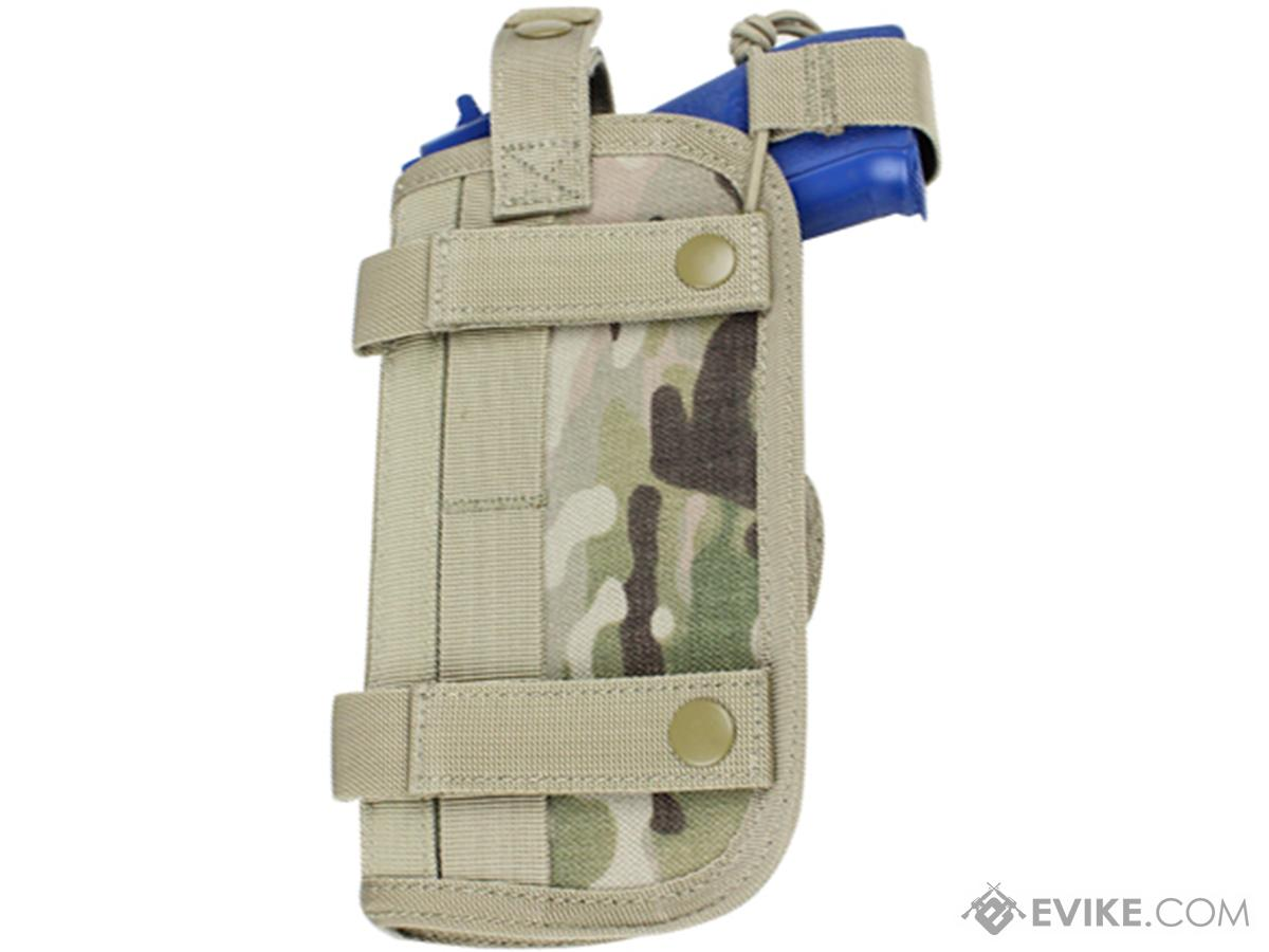 Condor Horizontal MOLLE Ready Holster (Color: Multicam)