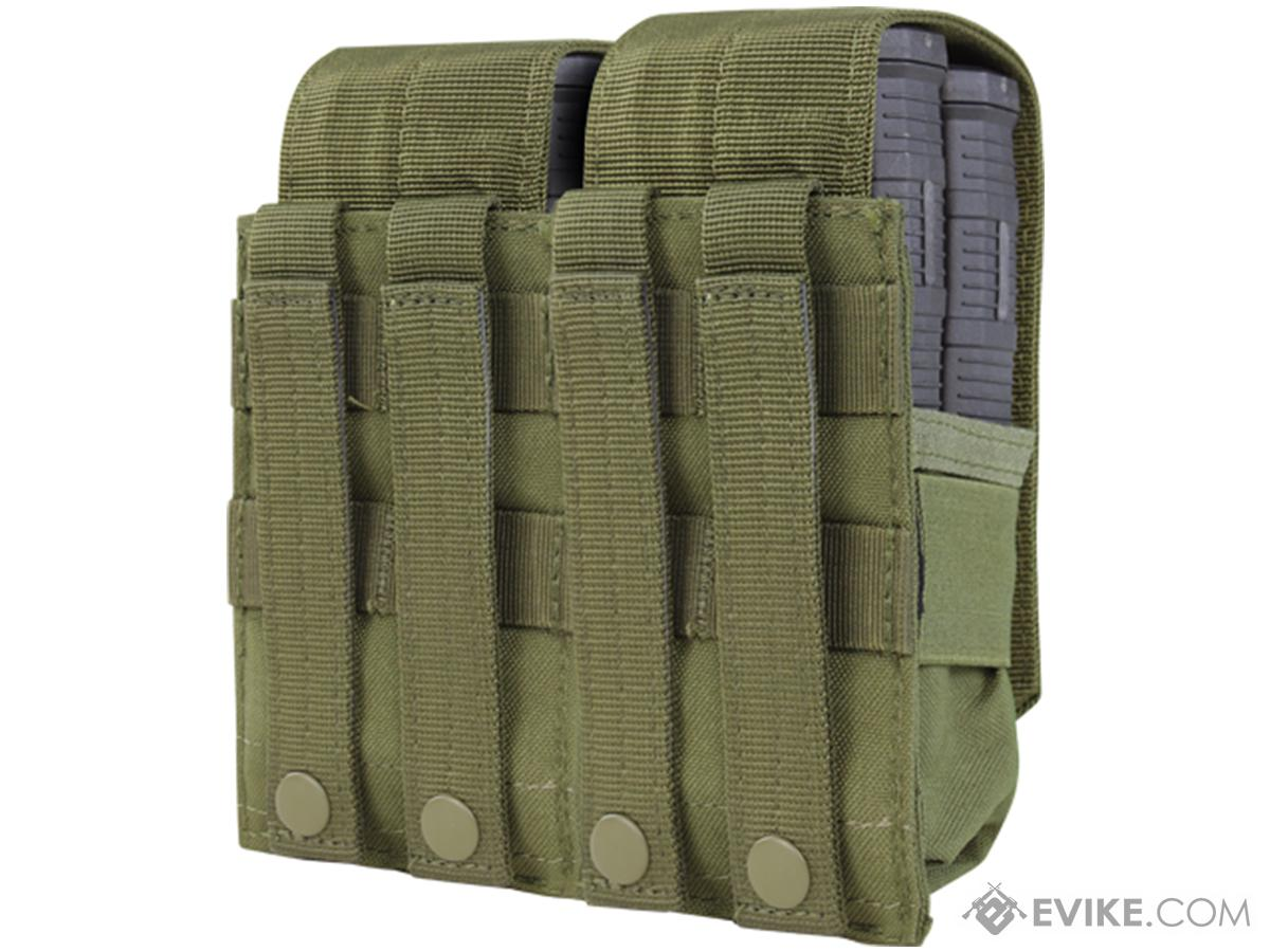 Condor Tactical Double M14 / 7.62 NATO Magazine Pouch (Color: OD Green)