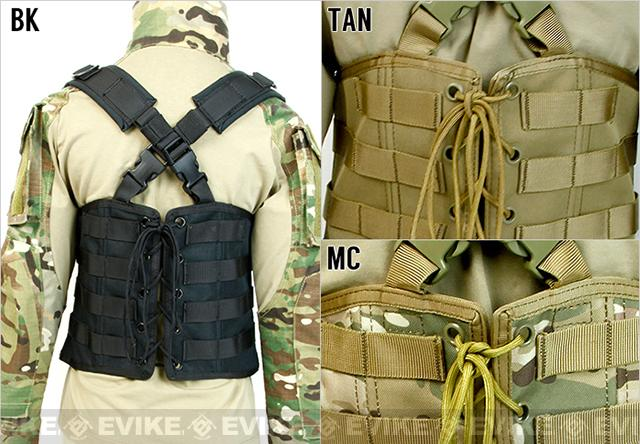 Laylax Ghost Gear Ladies Tactical Corset Rig - Tan