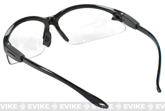 Global Vision Cougar Safety Shooting Glasses - Clear Lenses