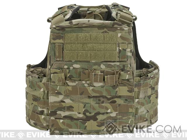 Pre-Order ETA January 2017 Crye Precision CAGE Plate Carrier and Plate Pouch Set - Multicam (Medium)