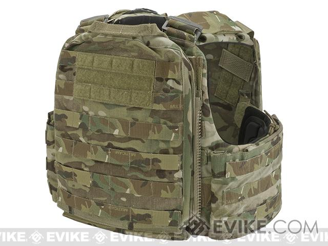 Pre-Order ETA April 2017 Crye Precision CAGE Plate Carrier and Plate Pouch Set - Multicam (X-Large)