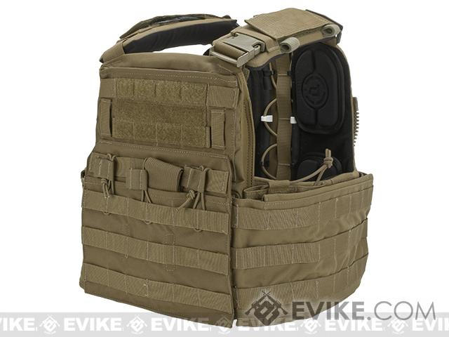 Crye Precision CAGE Plate Carrier and Plate Pouch Set - Coyote  (Medium)