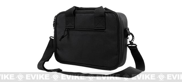 NcStar/VISM Double Pistol Range Bag - Black